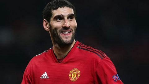 Marouane Fellaini might be Manchester United's best aerial player