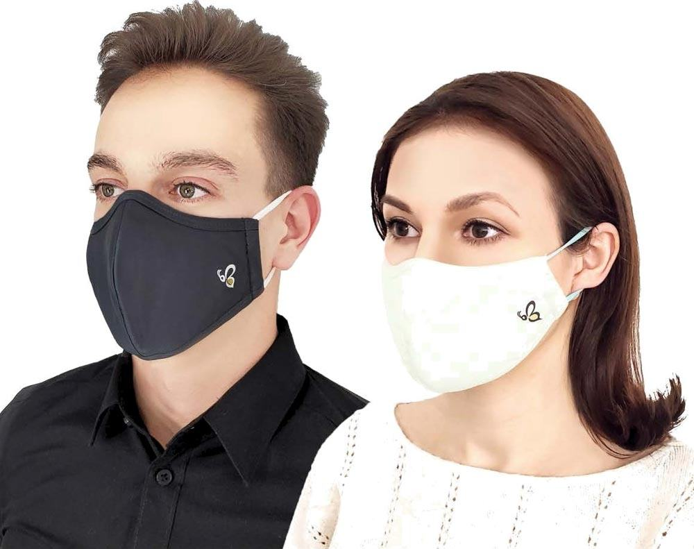 BEE.ACTIV Protective Fabric Mask