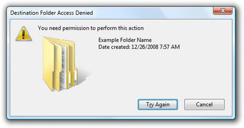 "Fix ""You need permission to perform this action"" error in Windows 10, 8.1 and 7"
